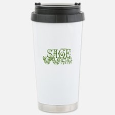 Cute A girl named Travel Mug