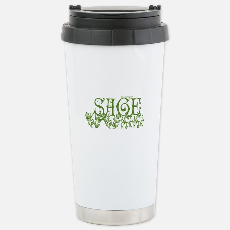 Cute Sage Travel Mug