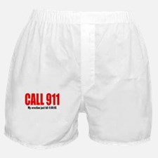 911 Best Boners Boxer Shorts