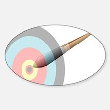 Speeding Arrow Decal