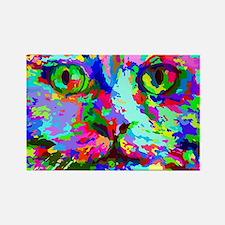Pop Art Kitten Magnets