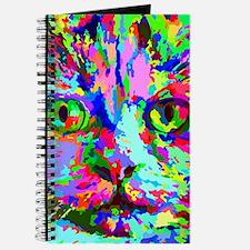 Pop Art Kitten Journal