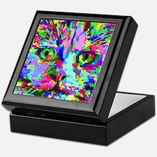 Pop Art Kitten Keepsake Box