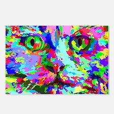 Pop Art Kitten Postcards (Package of 8)