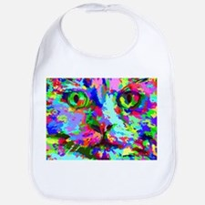 Pop Art Kitten Bib