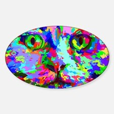 Pop Art Kitten Decal
