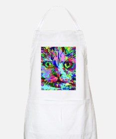 Pop Art Kitten Apron