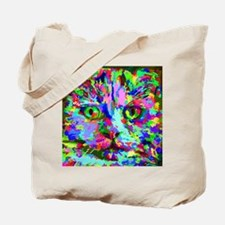Pop Art Kitten Tote Bag