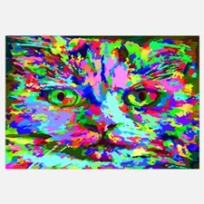 Pop Art Kitten Wall Art
