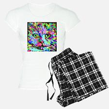 Pop Art Kitten Pajamas