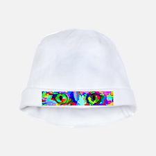 Pop Art Kitten baby hat