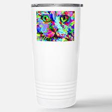 Pop Art Kitten Travel Mug