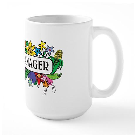 Plant Manager Large Mug