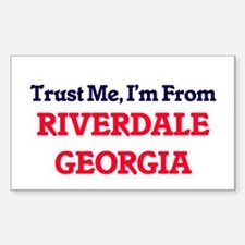Trust Me, I'm from Riverdale Georgia Decal