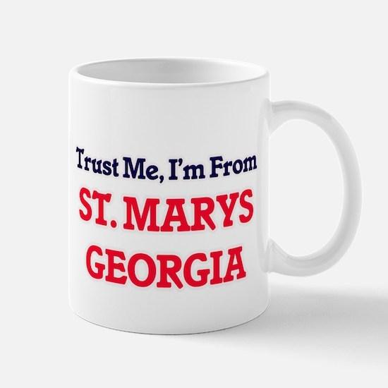 Trust Me, I'm from St. Marys Georgia Mugs
