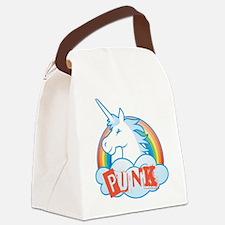Cute Punk rock Canvas Lunch Bag