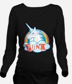 Unique Silly and cute Long Sleeve Maternity T-Shirt