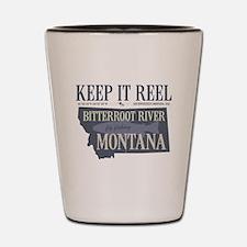 Funny River Shot Glass
