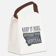 Funny River Canvas Lunch Bag