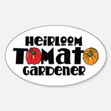 Heirloom Tomato Oval Decal