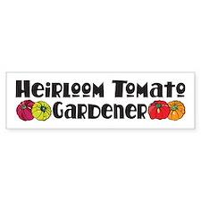 Heirloom Tomato Bumper Bumper Sticker