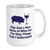 Pig Large Mugs (15 oz)