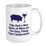 Pig Large Mugs (15 oz)