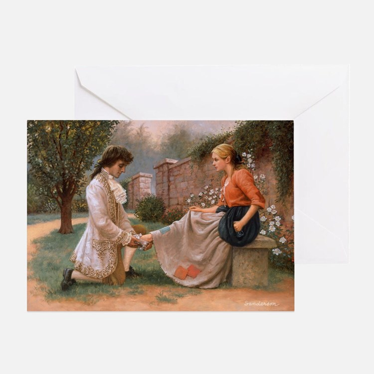 The Slipper Fits Greeting Card
