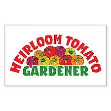 Heirloom Tomato Rectangle Decal