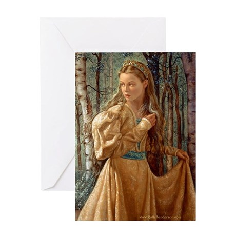 The Silver Wood Greeting Card