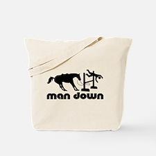 man down hunter Tote Bag