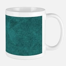 Distressed Teal Blue Green Mugs