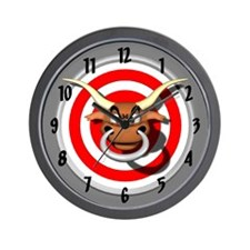 Bullseye Wall Clock
