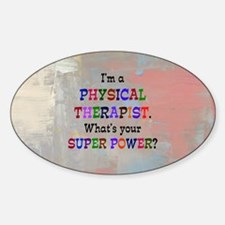 Physical therapist Decal