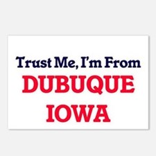 Trust Me, I'm from Dubuqu Postcards (Package of 8)