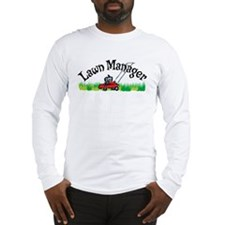 Lawn Manager Long Sleeve T-Shirt