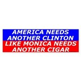 Anti hillary Bumper Stickers