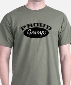 Proud Gramps (black) T-Shirt