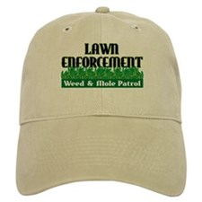 Lawn Enforcement Baseball Cap