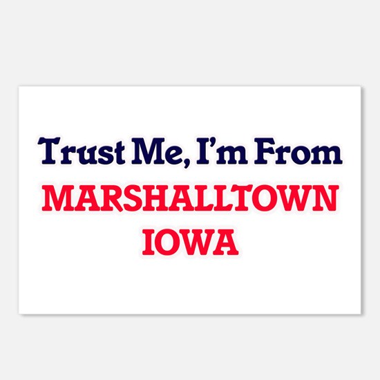 Trust Me, I'm from Marsha Postcards (Package of 8)