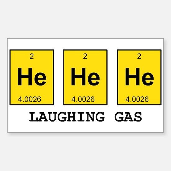 Laughing Gas Element Pun Decal