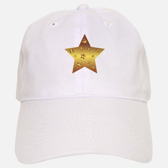 Golden Star Baseball Baseball Cap
