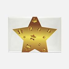 Golden Star Magnets