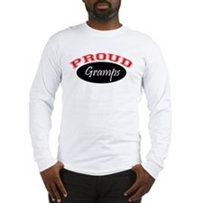 Proud Gramps (red and black) Long Sleeve T-Shirt
