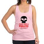 Talk Like A Pirate Day Racerback Tank Top