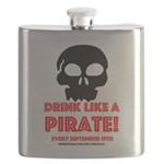Drink Like A Pirate Flask