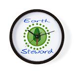Earth Steward 2 Wall Clock