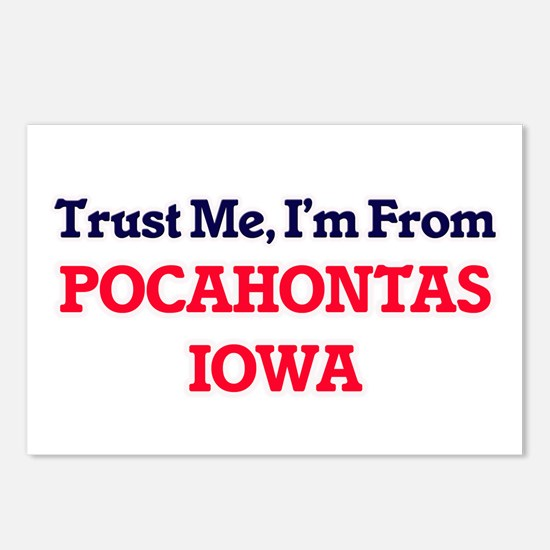 Trust Me, I'm from Pocaho Postcards (Package of 8)