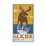 "Glacier national park 3"" x 5"""