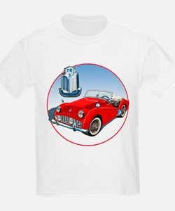 TR3-RED-C8trans T-Shirt